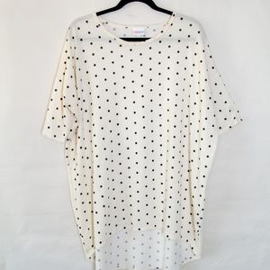 Cream and Black Polka Dot Irma